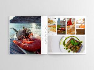 Progetto editoriale Look Book ristorante