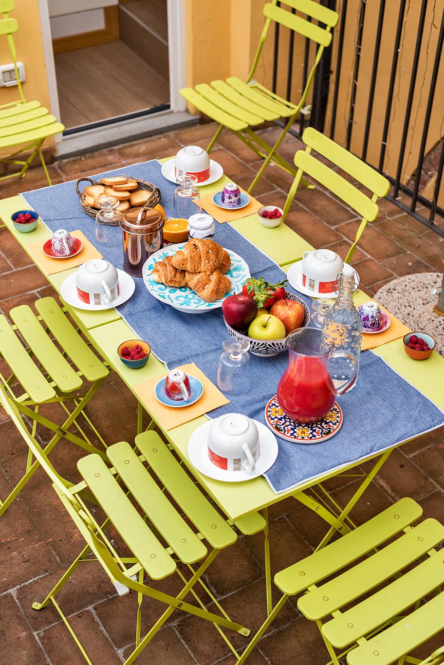 Terrazzo colazione 2